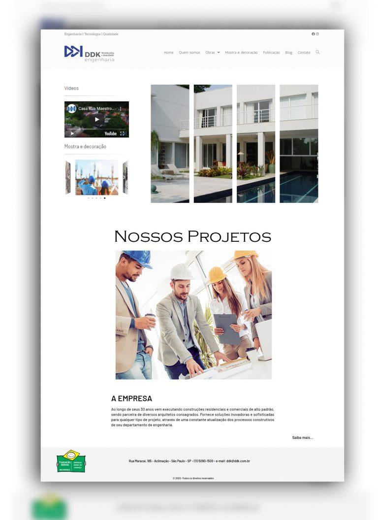 Read more about the article Criação de site
